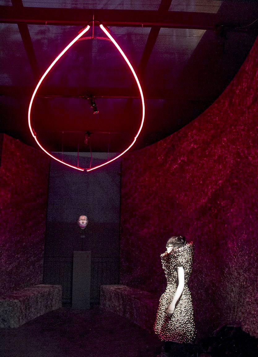"MOMA – Bjork Retrospective ""Songlines"" space"